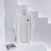 Moda Mulheres Homens Camisetas Com Letra Budge Summer Respirável Tees Outwear Tops Unisex Camisetas Mangas Curtas Clássicas Tamanho UE XS-L