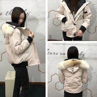 패션 가을 / 겨울 여성 캐주얼 다운 재킷 방풍 야외 긴 소매 두꺼운 모피 포켓 넓은 슬림 디자이너 파카 코트 후드
