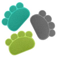 Kennels & Pens Pet Small Footprint Foot Sleeping Pad Placemat Cat Litter Mat Dog Puppy Cleaning Feeding Dish Bowl Table Mats Wipe Easy