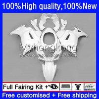 Moto Fairings för Suzuki Katana GSXF 650 Gloss White GSXF-650 GSX 650F 08-14 29NO.8 GSX650F 08 09 10 11 12 13 14 GSX-650F GSXF650 2008 2009 2010 2011 2012 2013 2014 Bodys