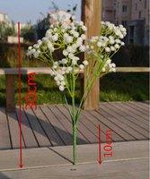 PU Çiçek Bitki Ev Düğün Dekorasyon Dekoratif Çiçekler Gelin Buketi Decorat Gypsophila Bebek Nefes Yapay Çiçekler