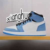 Jumpman Basketball Shoes University 1 1 1S 남성 여성 하이 하단 도움말 로얄 블루 올스타 버클 시카고 흑요석 중반 가벼운 연기 Gery 스포츠 스니커즈