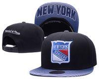 جديد قبعات الهوكي snapback قبعات القبعات نيويورك رينجرز كاب الأسود والأزرق اللون مزيج تطابق طلب جميع قبعات في الأسهم أعلى جودة قبعة كرة القدم