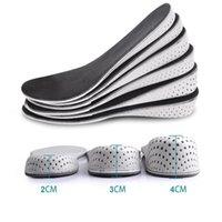النساء الرجال مريح ارتفاع زيادة نعل للجنسين إدراج الذاكرة رغوة النعال أحذية كامل HLAF وسادة وسادة