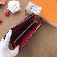 ARRIVER Femmes Véritable Portefeuilles Single Single M60017 avec boîte à poussière Boîte Zippy Titulaire de la carte Pursards CX # 210 Sacs
