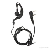 P99-PM01 Walkie Talkie Fones de ouvido Fone de ouvido com microfone PTT Headset para Motorola Dois Way Radio Walkie-Talkie 2 Pin K / M Plug