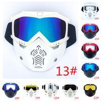 2021 Cyclings Helmets Harley Vintage masque Goggles de Cross Country Country Cays Racing Equitation de plein air Cyclisme Période de protection