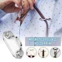 Крюки Rails Портативная многофункциональная одежда пряжка магнитный держатель Eyeglass Hang Brouches Pin Magnet Gookes Line Clips