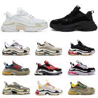 2021 triple s shoes designer schuhe für Männer Frauen Jahrgang sneakers schwarz weiß Bred pink 20fw Luxus Herren Turnschuhe große Sohle Sport Sneakers