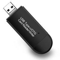 Çoklu USB2.0 Tip-C Mikro USB OTG SD TF Kart Okuyucu ile Bilgisayar Macbook Tablet DHL için