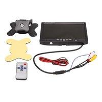 Auto-Video 12V-24V 7-Zoll-TFT-LCD-Farbe HD-Monitor für CCTV Reverse Rückansicht Backup-Kamera Automotive Elektronisches Zubehör
