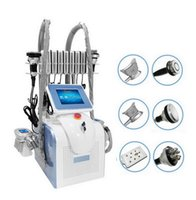 Professional 360 Degree Cryolipolysis Fat Freeze Machine Lipolaser Cryotherapy Lipo Laser Ultrasonic Cavitation RF Slimming Device With Double Chin Removal