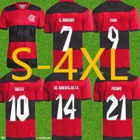 Flamengo Futebol Jerseys Diego Gabriel Gabi Camisa de Futebol de Arrascaeta e.Ribeiro Gerson B.henrique 21 22 Camisa Flamengo