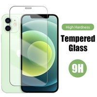 Transparent Screen Protector Case For iPhone 12 Mini Pro Max 6 7 8 Plus 11 XR XS Tempered Glass Film