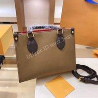 Luxurys Designer Onthego 2021 Frauen Crossbody Shopping Tasche Handtasche Damen Tasche Schulter Kupplung Taschen Mode Handtaschen Totes Geldbörsen Brieftaschen Rucksack Geldbörse Brieftasche