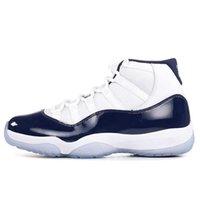 Ucuz 11 11s Erkek Kadın Basketbol Ayakkabı Metalik Gümüş Düşük Donanma Sakız Concord Düşük Legend Mavi 5.5-13 Bayan Erkek Yeni Spor ayakkabı 21ol26