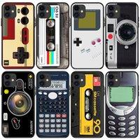 الحالات الهاتف المحمول كاميرا الشريط spoof deaddown لعبة الصوت الصوت phonecase ل iphone 13 غطاء القضية 11 12 برو ماكس البسيطة xs xr × 7 8 زائد