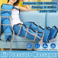 Air Pressure Leg Massager Promotes Blood Circulation Body Muscle Relaxation Lymphatic Drainage Device Limbs Electric Massagers