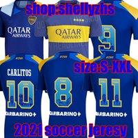 Homens + Kids 2021 Boca Juniors Juniors Jerseys Home Fans Versão do Jogador Terceiro Fora 21 22 Maradona Tevez Gago Osvaldo Carlitos Pavon Salvio Perez de Rossi Camisa de futebol
