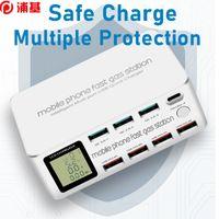 Chargeur rapide de téléphonie rapide 100W USB Chargeur rapide 3.0 PD USB Type C Service de chargement de chargeur pour iPhone Xiaomi Samsung Charge Pad
