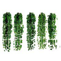 1 قطع 2 متر الاصطناعي اللبلاب الأخضر ورقة جارلاند النباتات كرمة وهمية أوراق الشجر الزهور ديكور المنزل البلاستيك الاصطناعي زهرة الروطان سلسلة owd6043