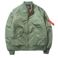 Männer Jacken Baseballjacke Herren Winter Baumwolle Gepolsterte JAQUETA Masculina Pilot Mantel Streetwear Korean Mode Militär Bomber 0omen