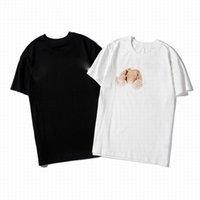 2021 Designer de Verão Camiseta Casual Moda Homem Aad Mulheres Loose T-shirt com Animal Imprimir Mangas Curtas em Venda Luxo Roupa Tamanho S-2XL