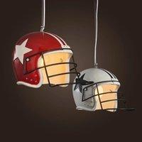 Pendant Lamps American Retro Industrial Helmet Lights Led E27 Individual Home Decor Loft Bar Dining Living Room Restaurant Cafe Stores