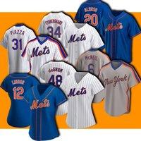 Mulher 12 Francisco Lindor Baseball Jersey 48 Jacob Degrom Pete Alonso Jerseys Jeff McNeil Trevor May Jersey Marcus Stroman Michael Conforto