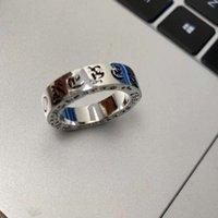 MAN CH High anelli di qualità larga anello di moda marchio marca in acciaio in acciaio croce annata annata tendenza maschio hip-hop gioielliere