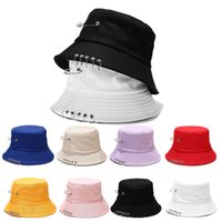 الصياد قبعة قبعة الإناث البرية طوي حوض خمسة الدائري دبوس قبعة الذكور المد الصيف في الهواء الطلق حماية الشمس سونحات زوجين قبعة GWA4933