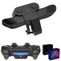 Джойстик обратно Кнопка Кнопка для PS4 Контроллер Геймпад Задний Усилитель Весло Клавиши Адаптер для PlayStation 4 PS4 Аксессуары