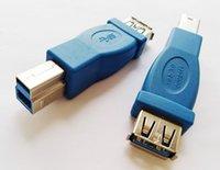 Connettori USB, USB3.0 A Femmina a Tipo B Maschio Superspeed Sport Adapter Plug Converter / 10pcs