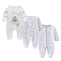 Clothing Sets Autumn Unisex Baby Rompers Born Cotton Suits Boys Girls Costume Clothes