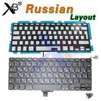 """Para Pro 13.3 """"A1278 RU Russo Keyboard / Backlight Backlit + 100 pcs parafusos de teclado 2008-2012 anos11"""