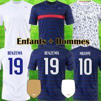 france 2020 UEFA EURO camisas 100th aniversário de camisas de futebol MBAPPE 100 anos maillot GRIEZMANN POGBA Futebol LEMAR camisas Equipe 2021 kits tops