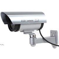 Virtuelle Kamera Dummy Gefälschte Kameras LED Simulierte Sicherheit Videoüberwachung gefälschte Kamera Signalgenerator Outdoor Home Security HHE8834