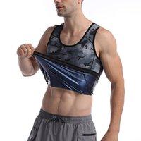 Herren Body Shaper Yagimi Tarnung Mann Tank Top verlieren Gewicht Shaper Abnehmen Taille Trainer Shapewear Fajas Sweat Sauna Weste