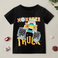 PatPat Summer 1 pc Kid Boy Short-sleeve Cotton casual Vehicle T-shirt 210521