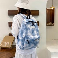 Backpack Female Preppy Style For Teenager Canvas Fashion Large Laptop Pack Women Vintage Casual School Bag Travel