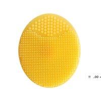 Yüz Peeling Fırçalar Bebek Bebek Yumuşak Silikon Yıkama Yüz Temizleme Pedi Cilt Spa Banyo Scrub Temizleyici Aracı EWE5691