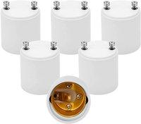 Titulaires de lampe LED Adaptateur Heat Fire Résistant Convertit Fixture de la base GU24 PIN à E27 Prise de vis Standard Standard