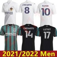MLS 2021 2022 Лос-Анджелес La Galaxy Home Away Soccer Jerseys Chicharito J.dos Santos Kljestan 21 22 Мужские футболки