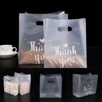 100pcs Sacs en plastique translucide, Merci Sacs en plastique, Fête de mariage Favoris Retai Bbybrw Brir 1360 V2