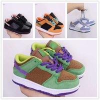 2021 Crianças SB J1 Dunk 1 Sapatos de Alta Qualidade Menino Menina Designer Sapato De Esportes Crianças Jovem Classics Ao Ar Livre Treinador Trainer Tamanho 28-35