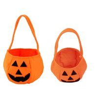 Christmas Decorations Gift Bag Party Fashion Halloween Square And Round Pumpkin Ghost Bags Tote