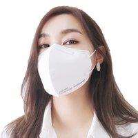 FFP2 Certificado de máscara de 5 capas CE 0370 Embalaje individual 20pcs SSS de alta calidad + Filtro de tela no tejida suave eficiencia 95% Empaquetado individualmente