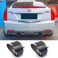 Manifold & Parts Tail Section Exhaust Stainless Steel Pipe Cover Decoration Sleeve Modification For ATS