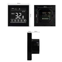 Smart Home Control Tuya Wifi Kamer Thermostaat Elektrische Vloerverwarming Water / Gas Boiler Temperatuur Afstandsbediening Afstandsbediening met Google Alexa