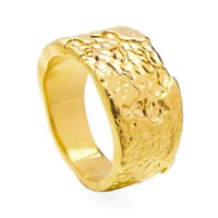 VAROLE Natural Texture Rings For Women Gold Color Punk Lady Midi Ring Fashion Jewelry Friends Gifts Christmas Bague Femme